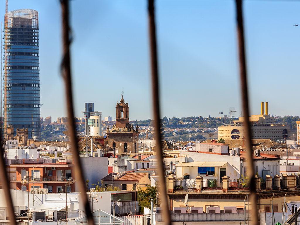 Sevilla enjaulada en Omnium Sanctorum VII, 2013 ©Flivillegas