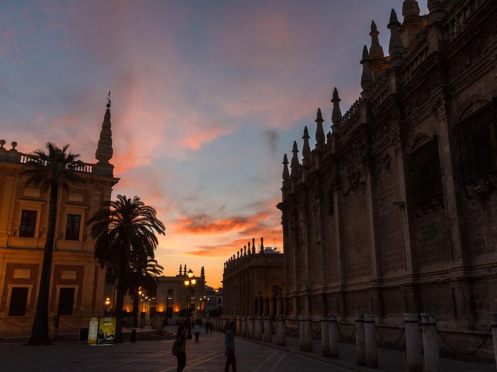 Archivo General de Indias y Catedral de Sevilla