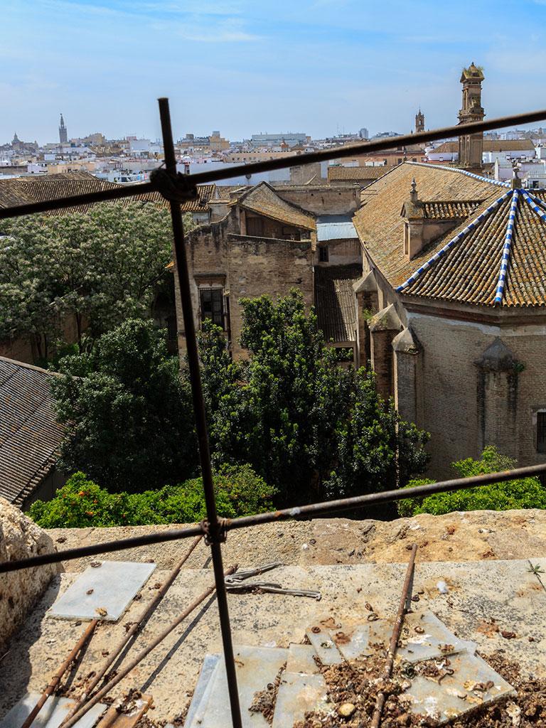Panorámica desde la Torre de don Fadrique, Sevilla