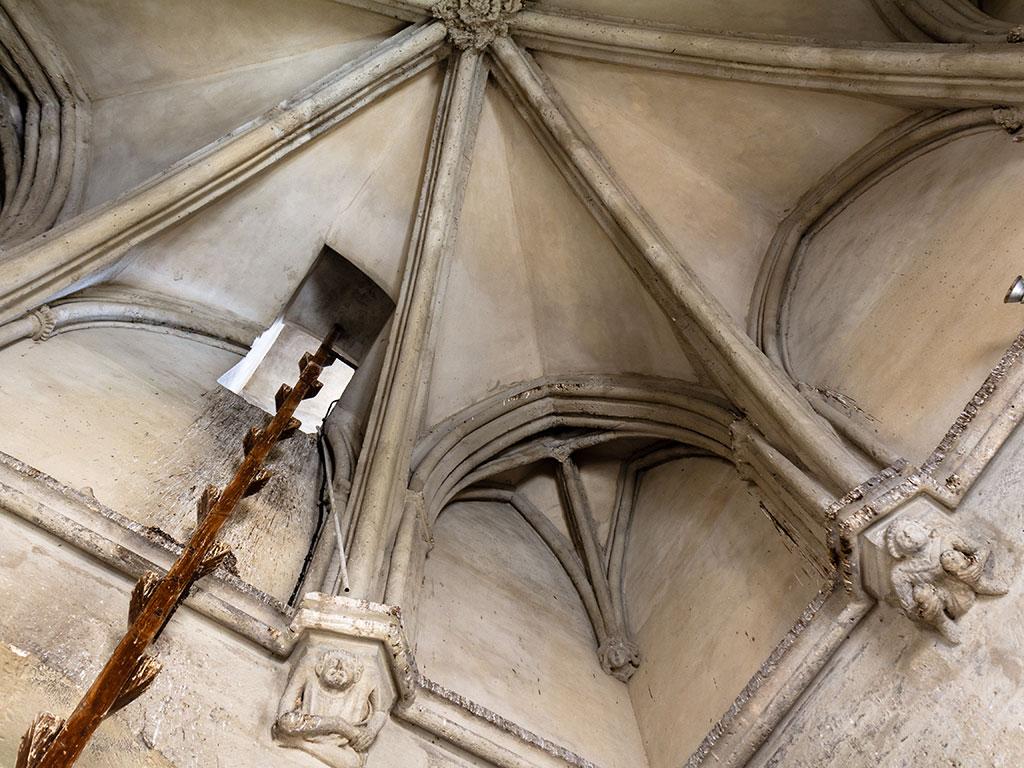 Interior de la Torre, Sevilla