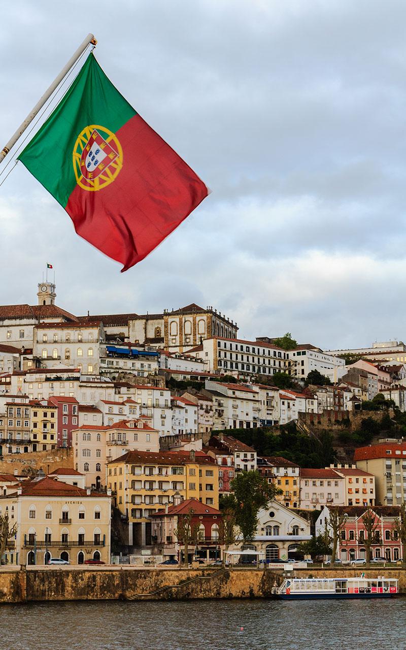 Coimbra desde el puente