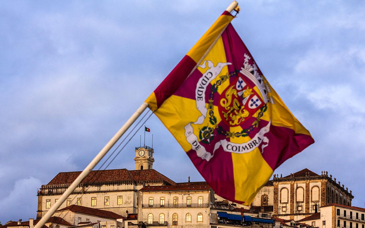 Banderas al viento. Coimbra, 2014 ©Flivillegas