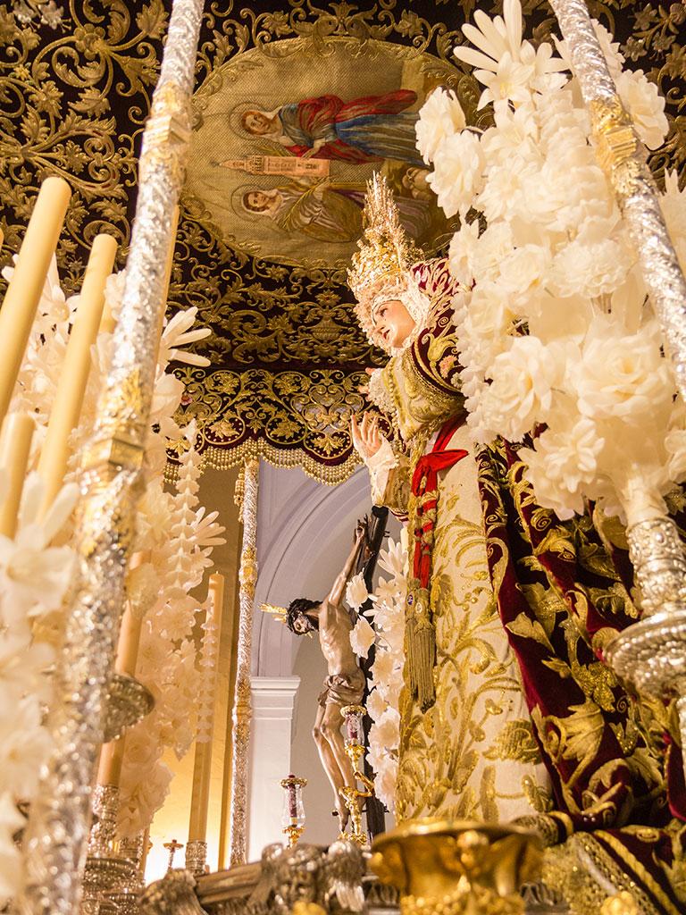 Cristo de la Salud y Virgen del Refugio de San Bernardo
