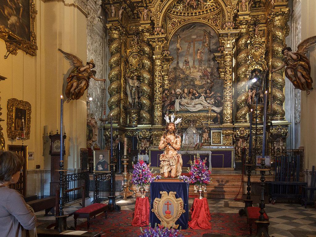 El santuario de Pedro Roldán. Iglesia de la Santa Caridad, Sevilla, 2015 ©Flivillegas