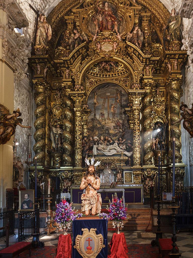 Barroco pluscuamperfecto. Iglesia de la Caridad, 2015 ©Flivillegas