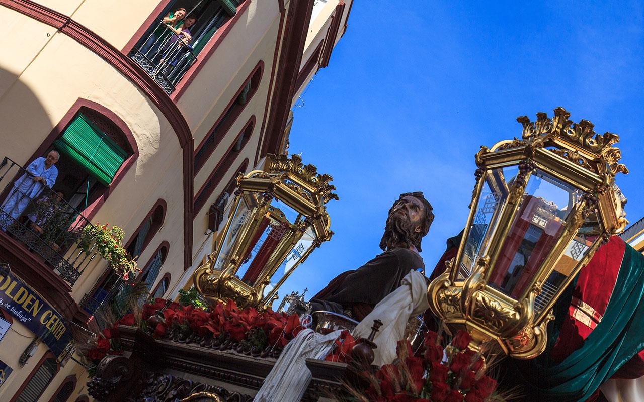 Paso de misterio de la Sagrada Cena