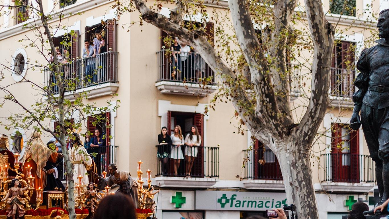 De Castillo a Mesa. Martes Santo, 2015 ©Flivillegas