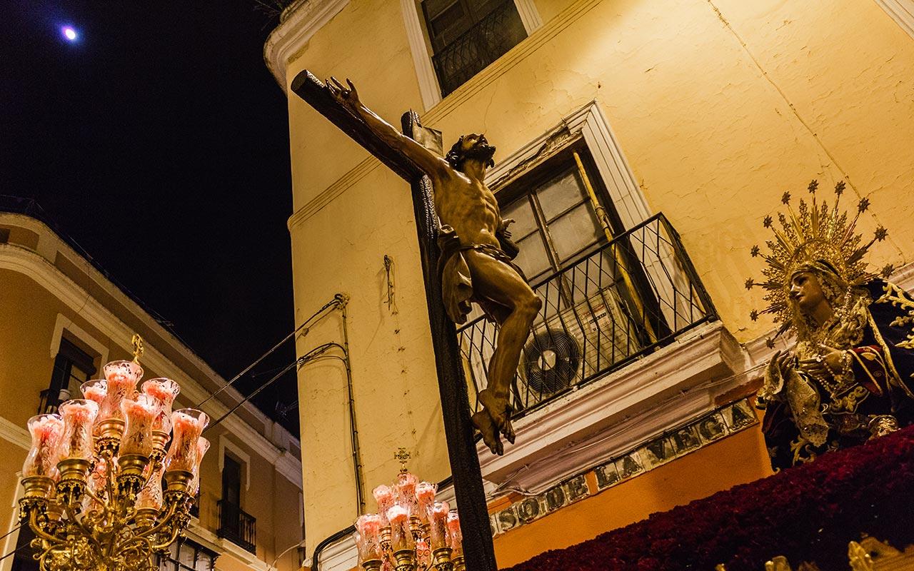 Cristo de las Misericordias por Javier Lasso de la Vega