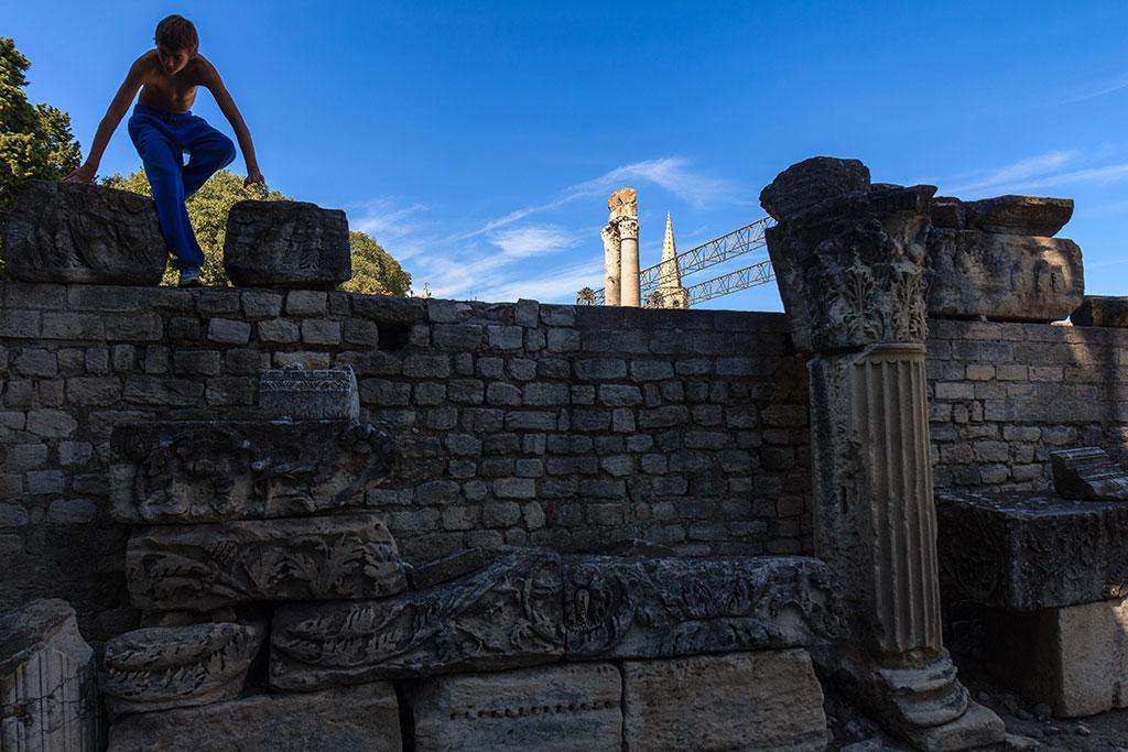 Ruinas del Teatro Romano de Arles
