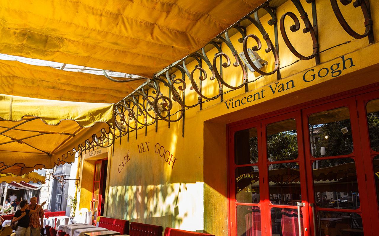 Café con Van Gogh. Arles, 2013 ©Flivillegas