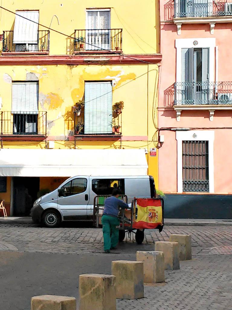 La otra marca España. Sevilla, 2015. Foto de móvil ©Flivillegas