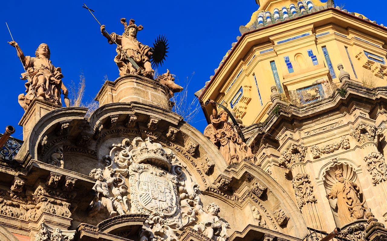 Fachada de la iglesia de San Luis de los Franceses
