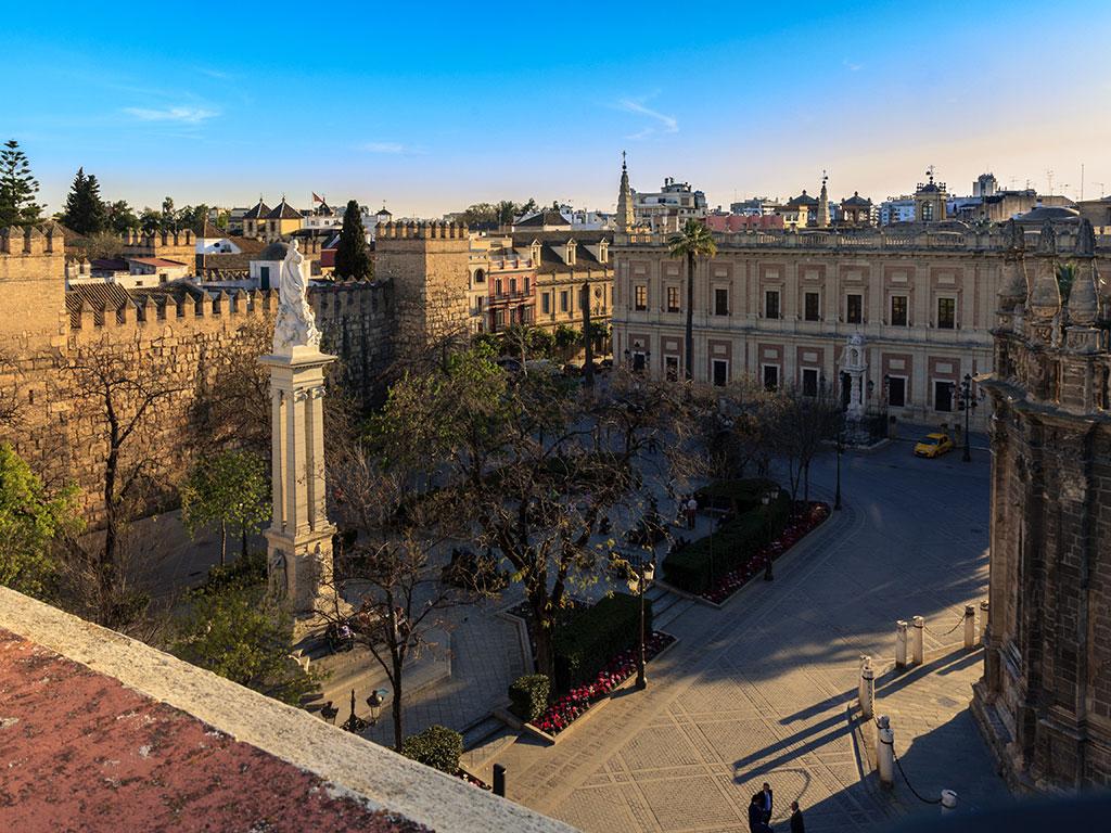 Atardecer triunfal I. Sevilla, 2014 ©Flivillegas
