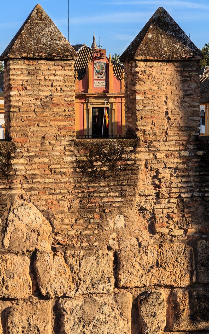 Muralla del Real Alcázar