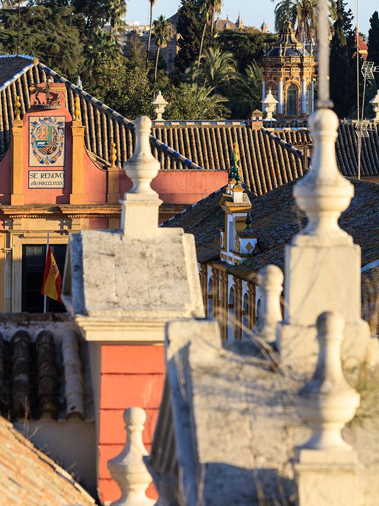 Real Alcázar y remates de la Casa de la Provincia
