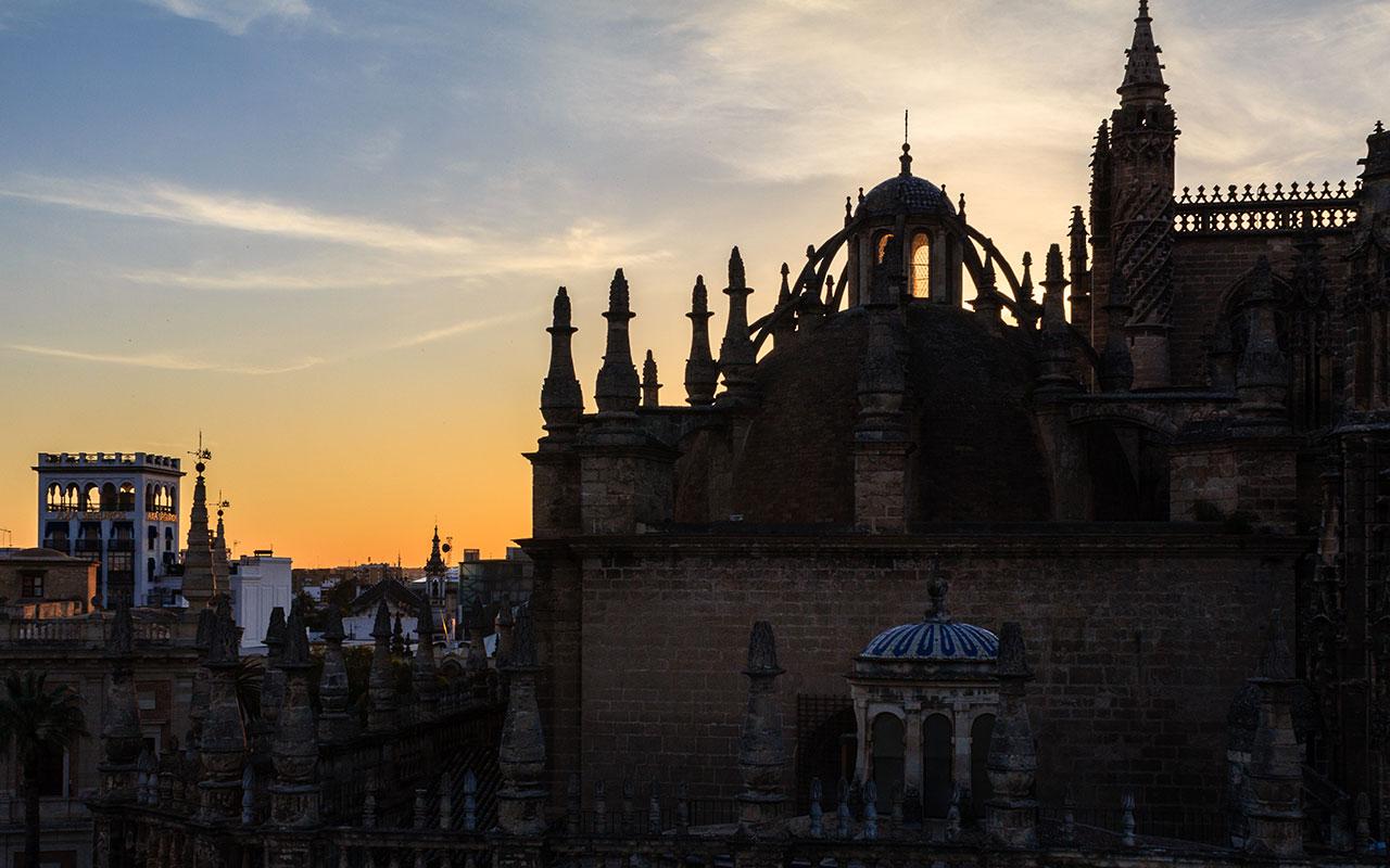 Claroscuro catedralicio V. Sevilla, 2014 ©Flivillegas
