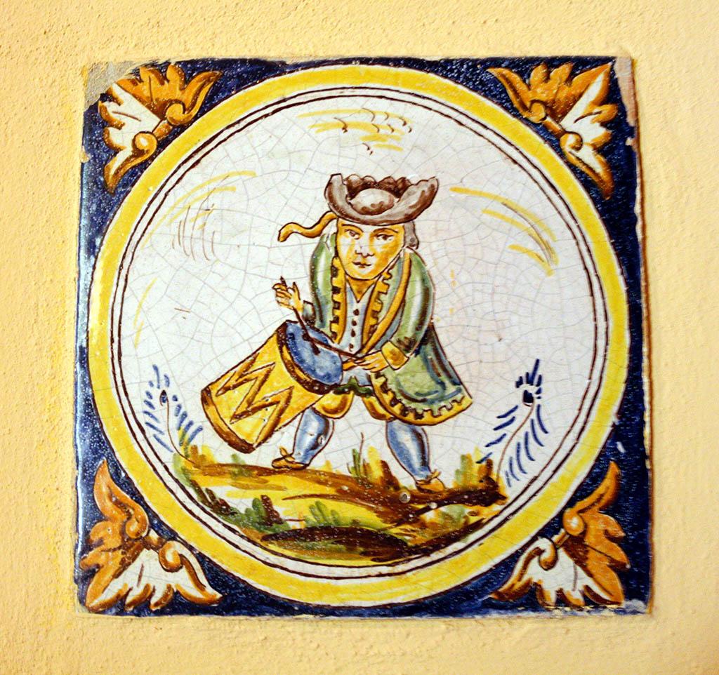 Azulejo del Palacio de la Condesa de Lebrija