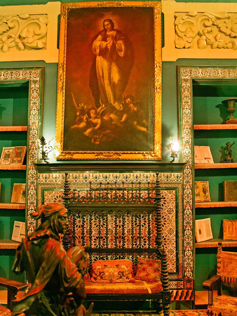 Sala del Palacio de la Condesa de Lebrija