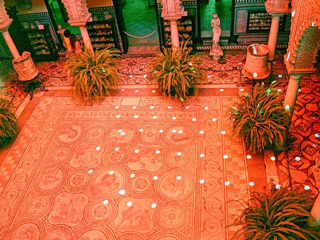 Patio del Palacio de la Condesa de Lebrija