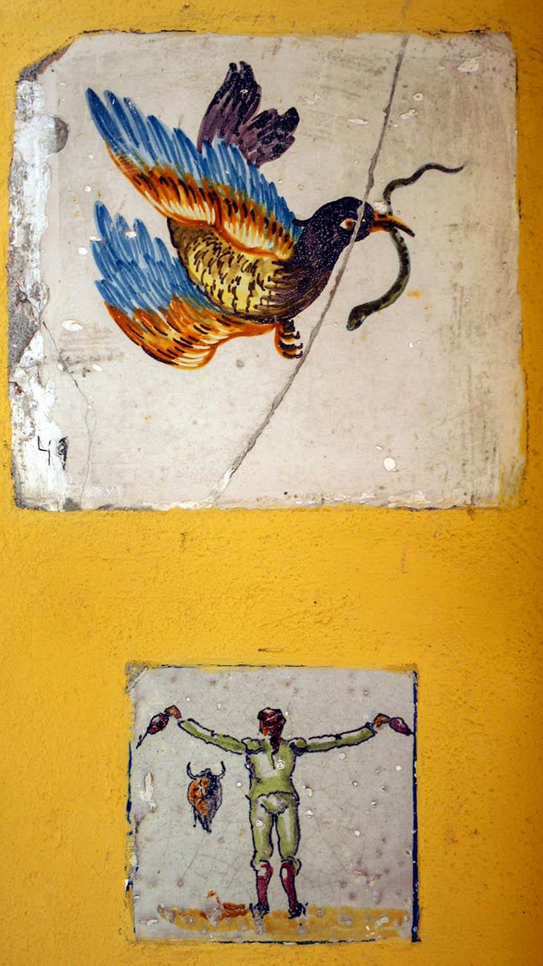 Azulejos del Palacio de la Condesa de Lebrija