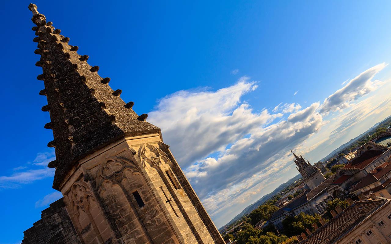 Panorámica desde el Palacio de los Papas de Avignon