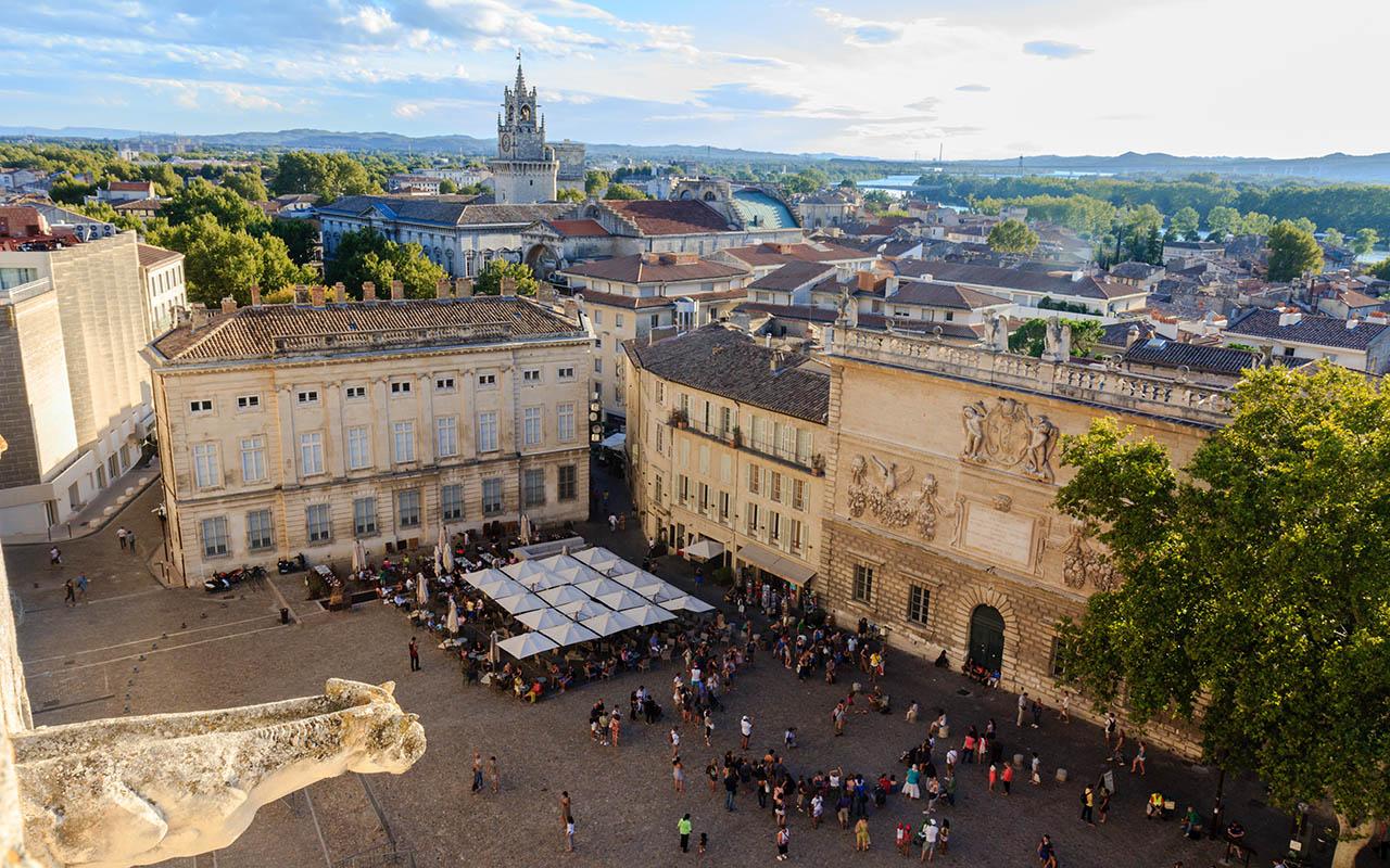 Panorámica de Avignon
