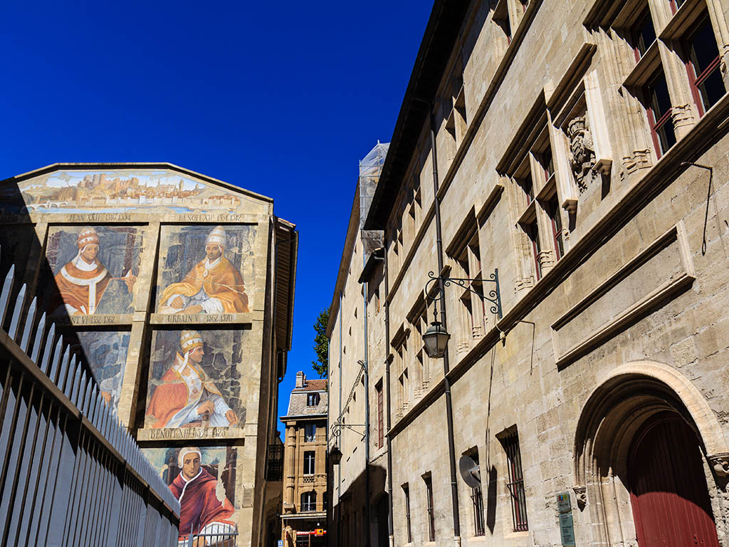 Pinturas de los Papas de Avignon