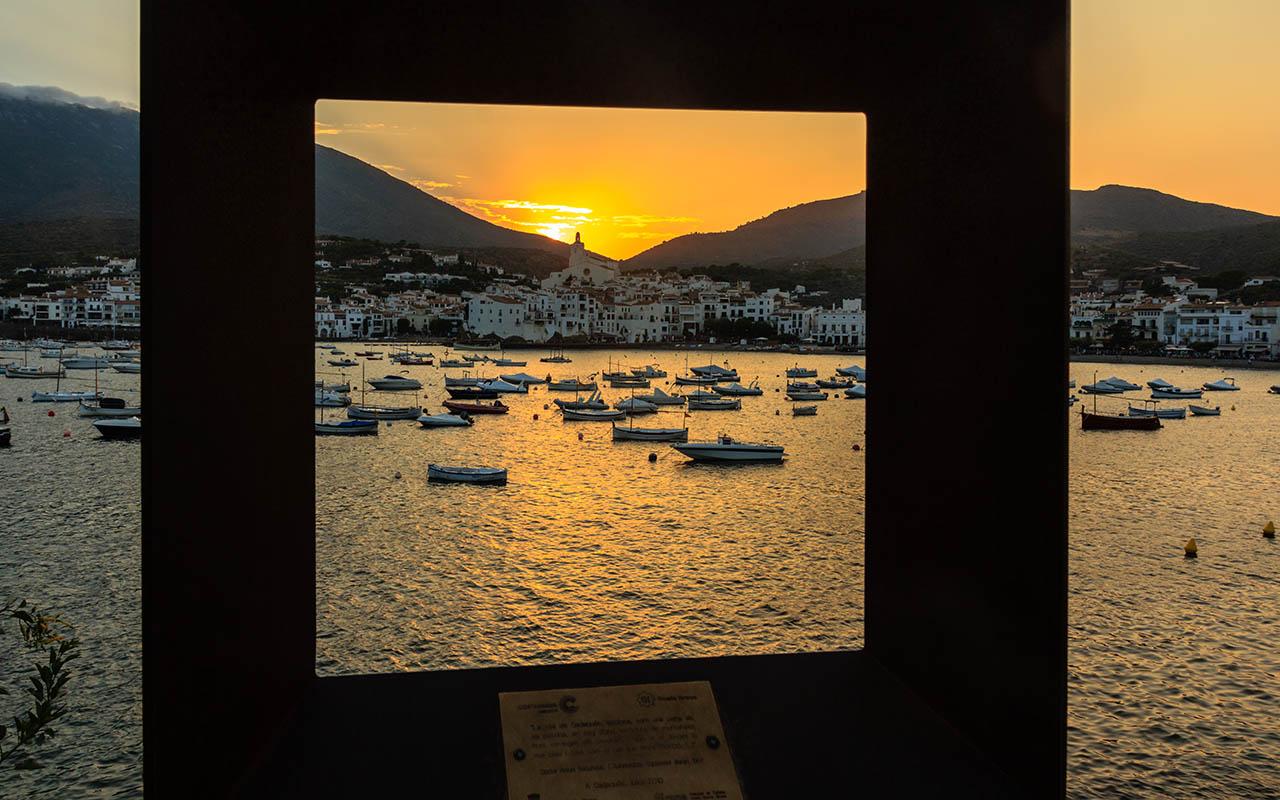 Panorámica de la bahía de Cadaqués