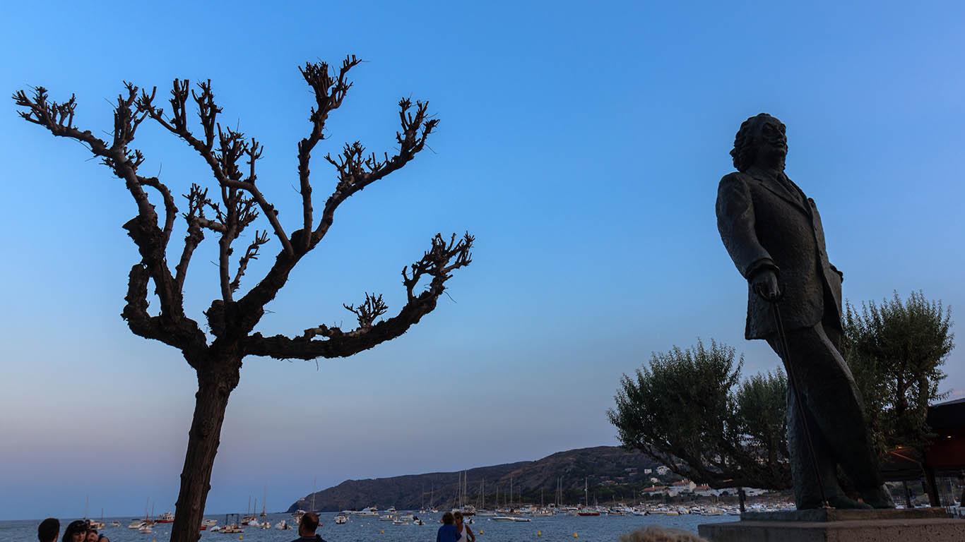 Escultura de Salvador Dalí