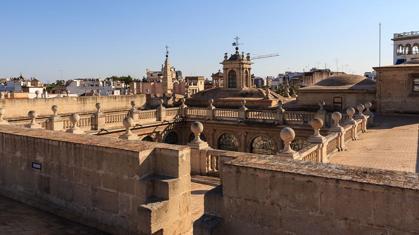 La cubierta de Indias. Sevilla, 2012 ©Flivillegas