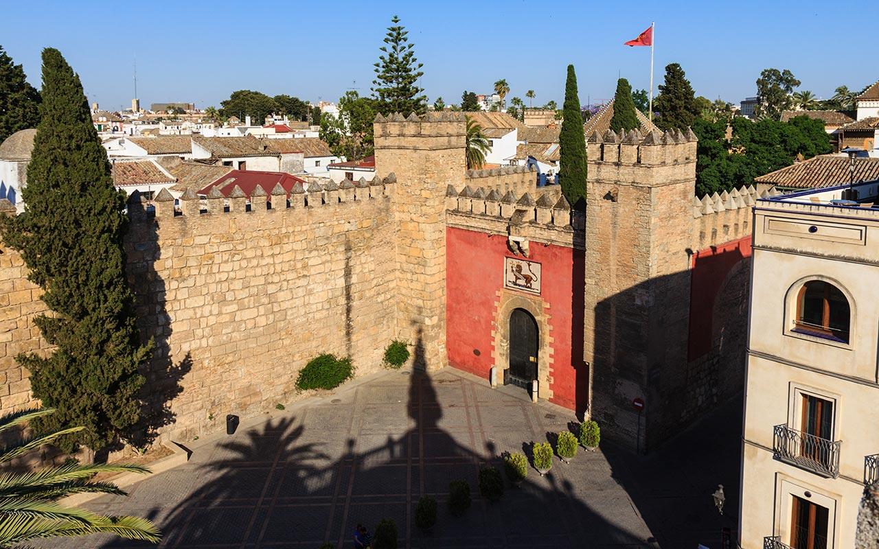 Vista del Real Alcázar