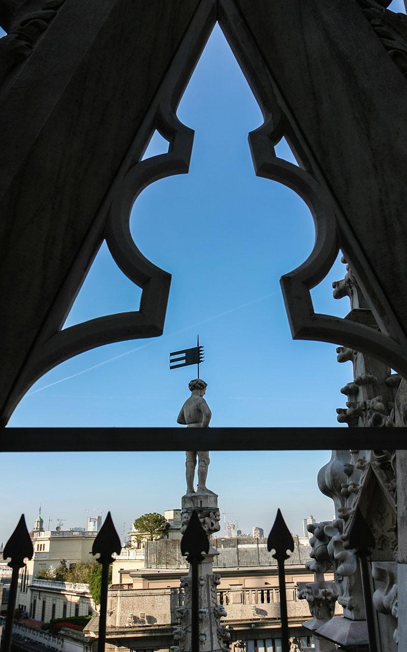 Escultura del Duomo
