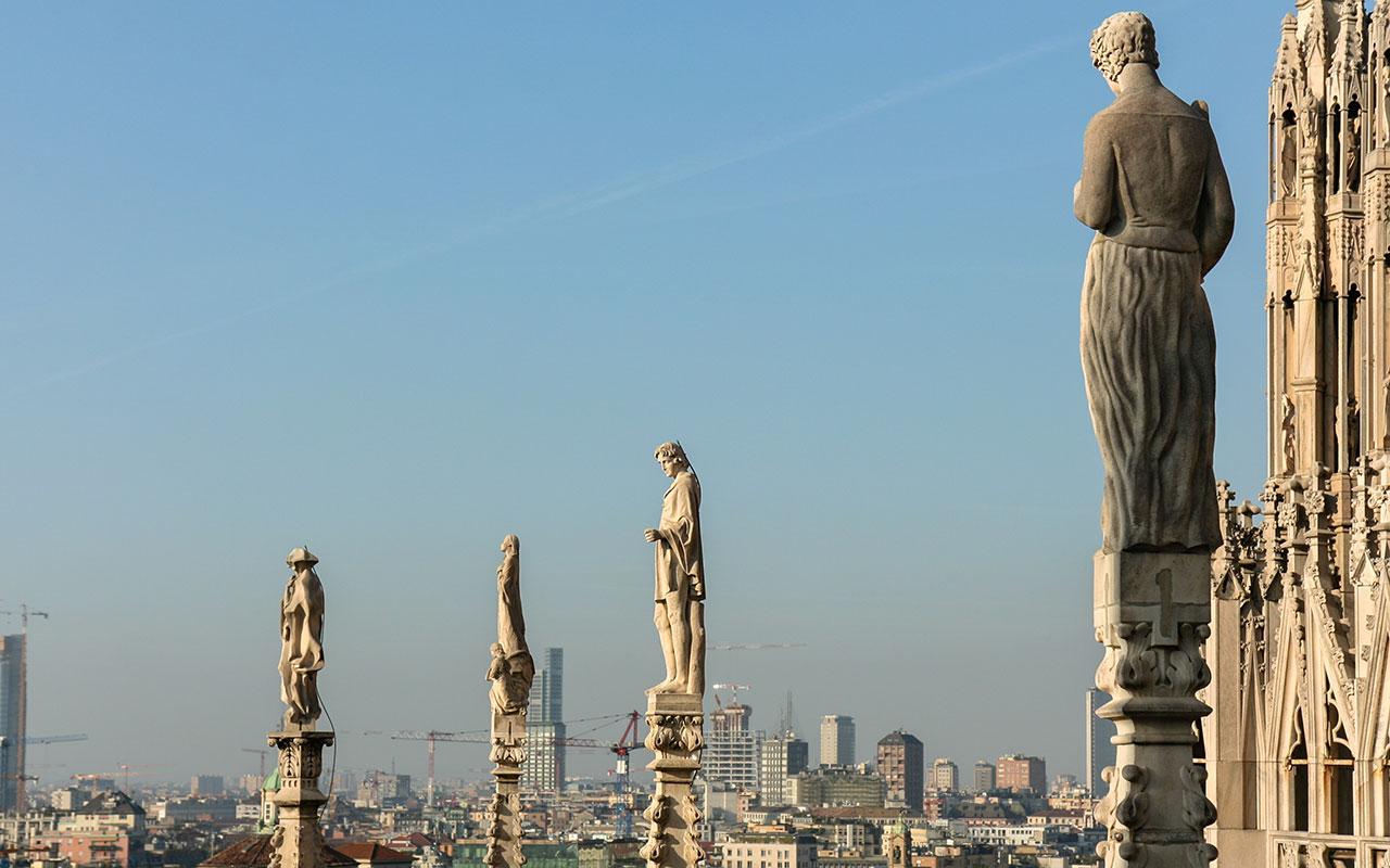 Esculturas del Duomo