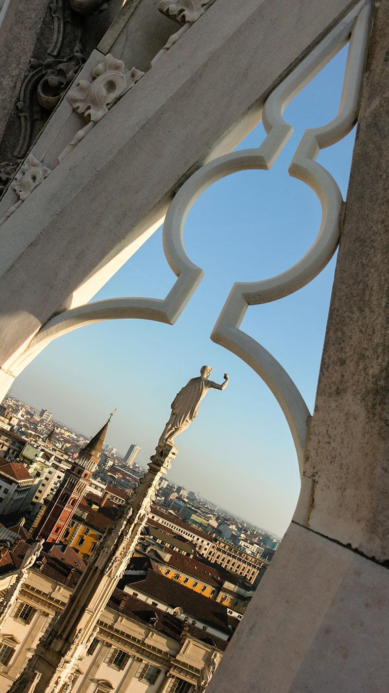 Vista aérea del Duomo