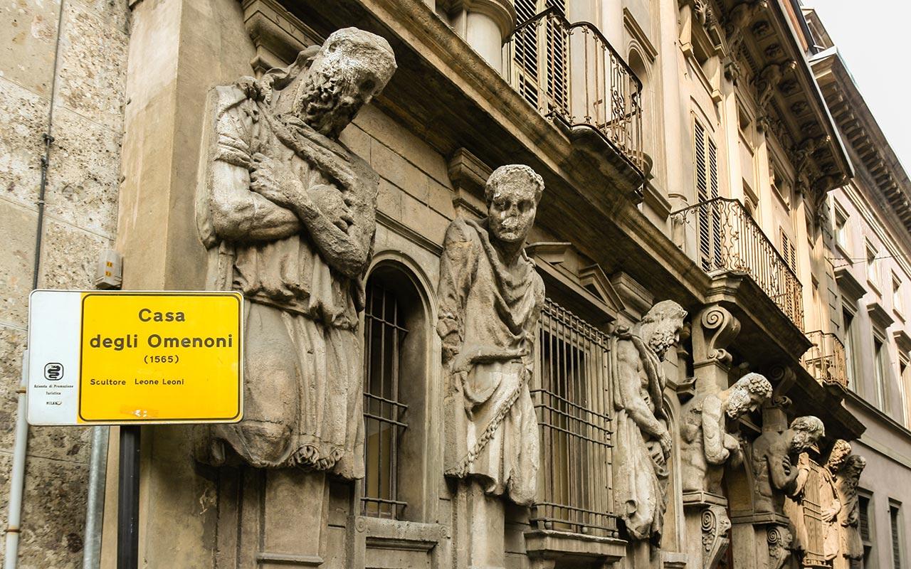 Casa degli Omenoni di Milano