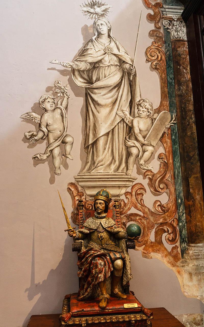 San Fernando en la Iglesia de Los Venerables