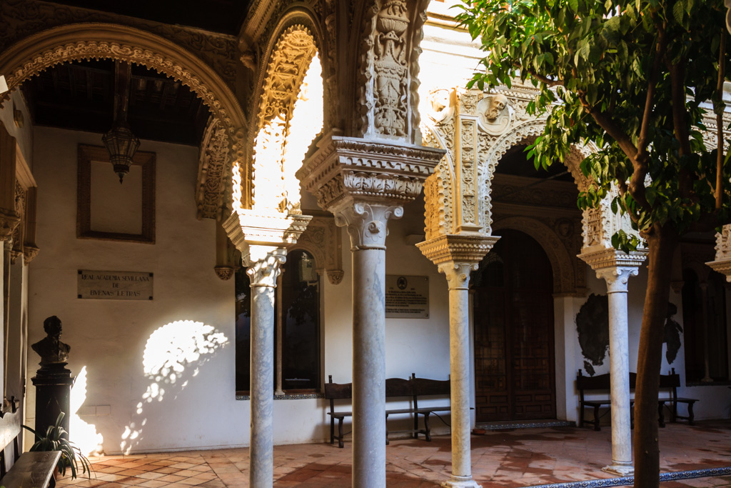 Patio de la Casa de los Pinelo