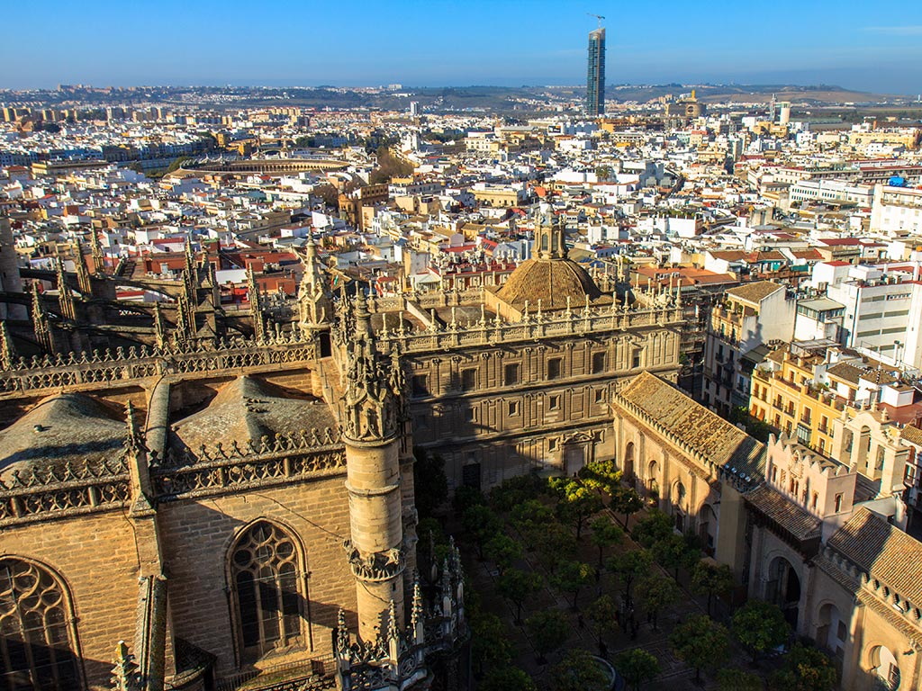 Catedral de Sevilla desde la Giralda