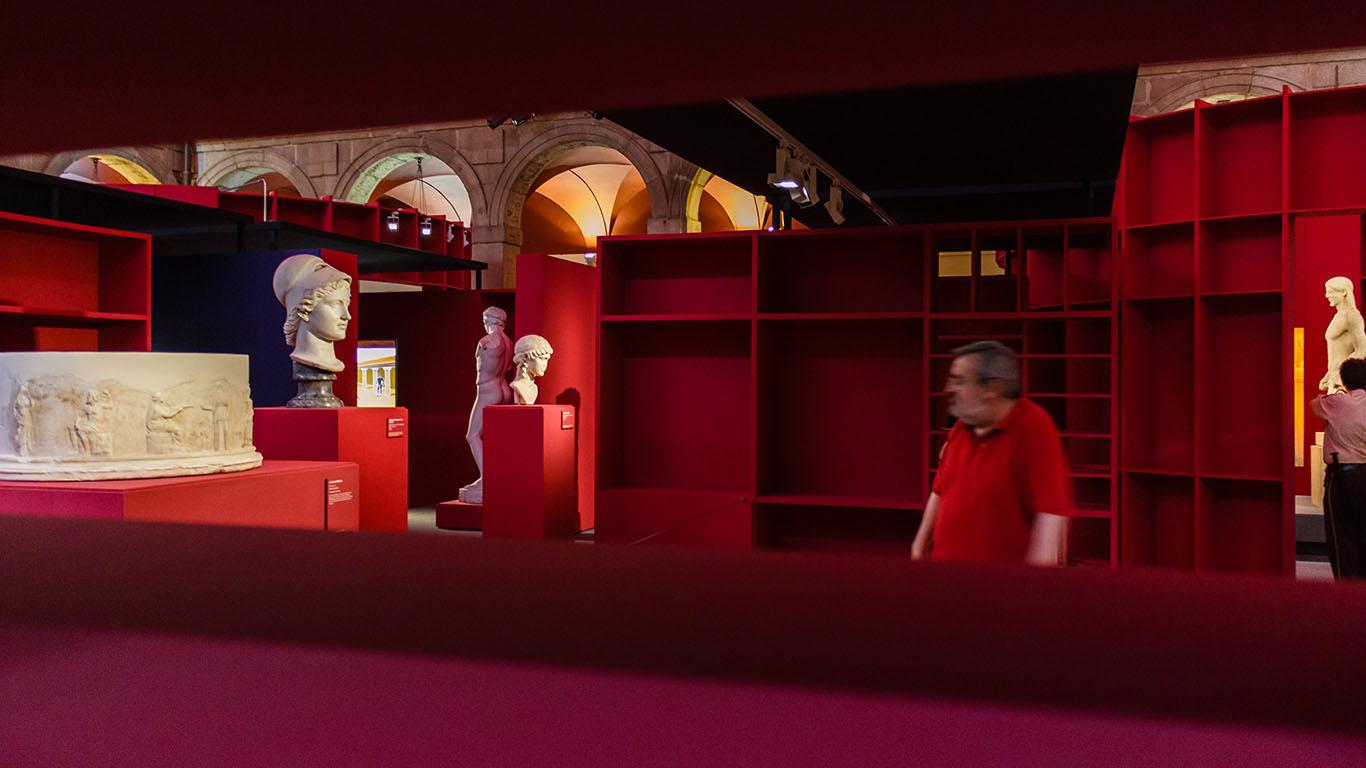 Sala del Museo Arqueológico Regional