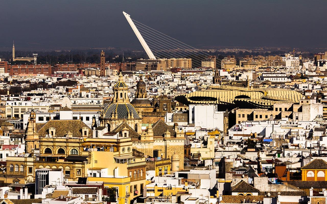 Setas con Alamillo. Sevilla, 2014 ©Flivillegas