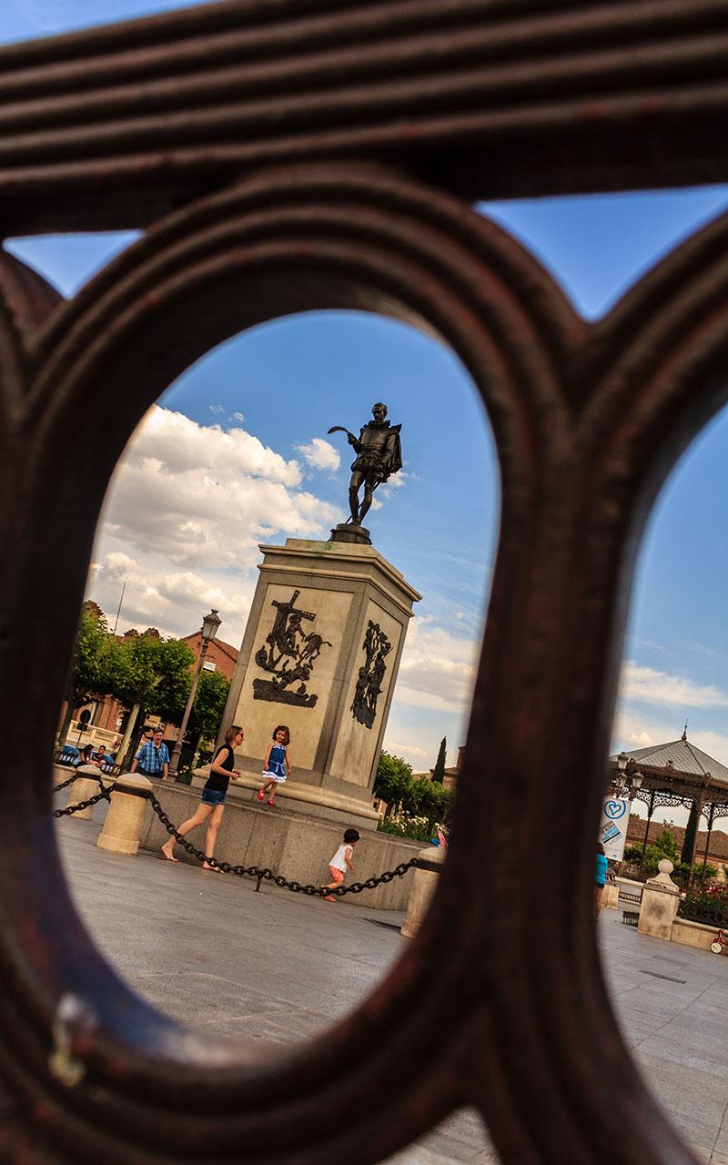 Cervantes para vivirlo. Alcalá de Henares, 2015 ©Flivillegas