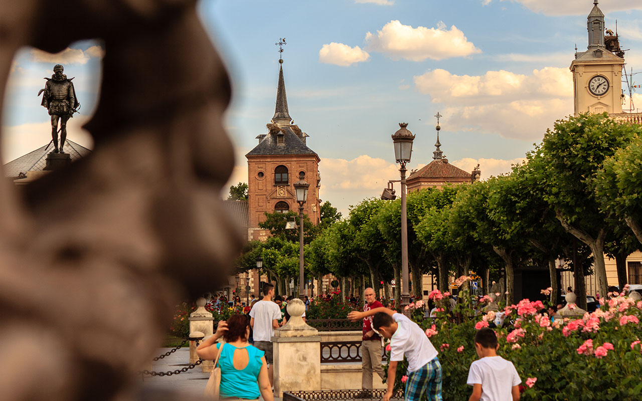 Cervantes y sus paisanos. Alcalá de Henares, 2015 ©Flivillegas