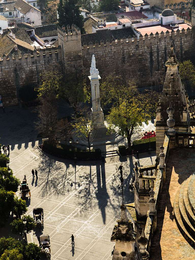 Plaza del Triunfo desde la Giralda