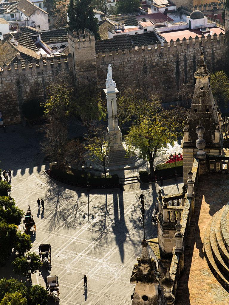 Sol para la Inmaculada. Sevilla, 2014 ©Flivillegas