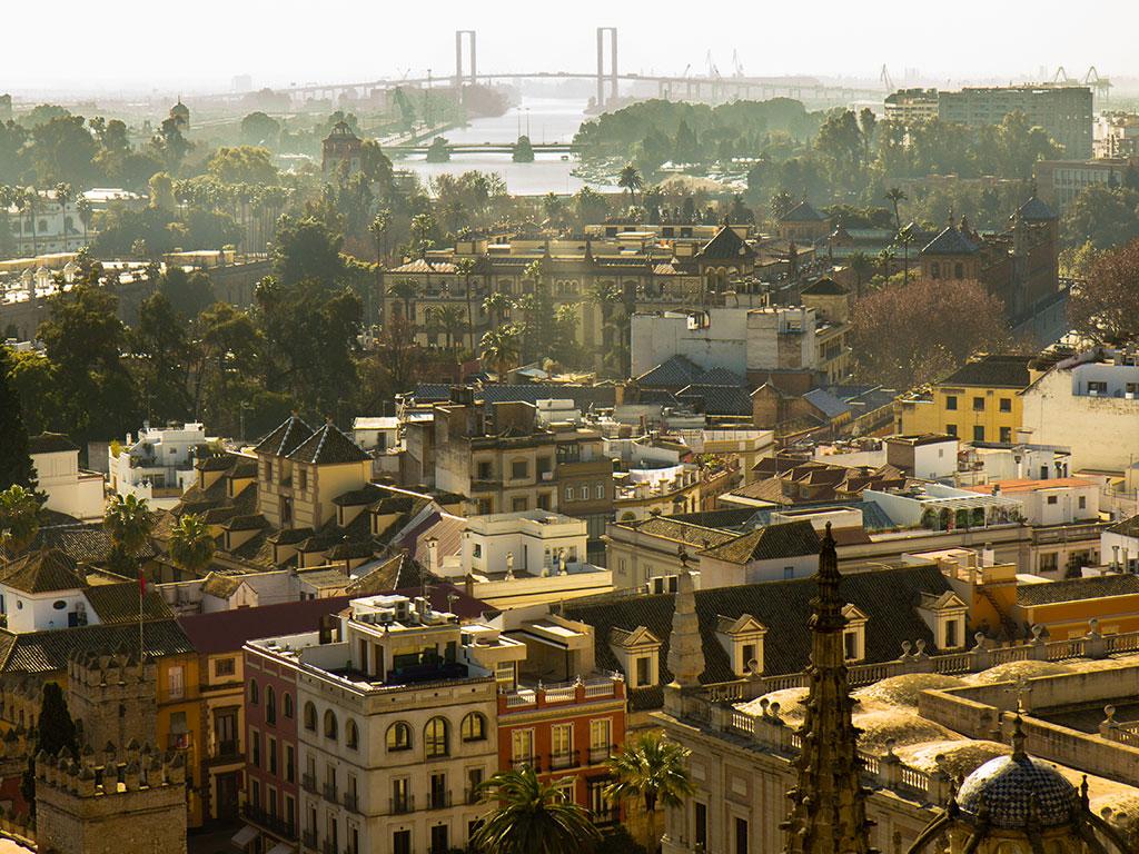 Panorámica de Sevilla desde la Giralda
