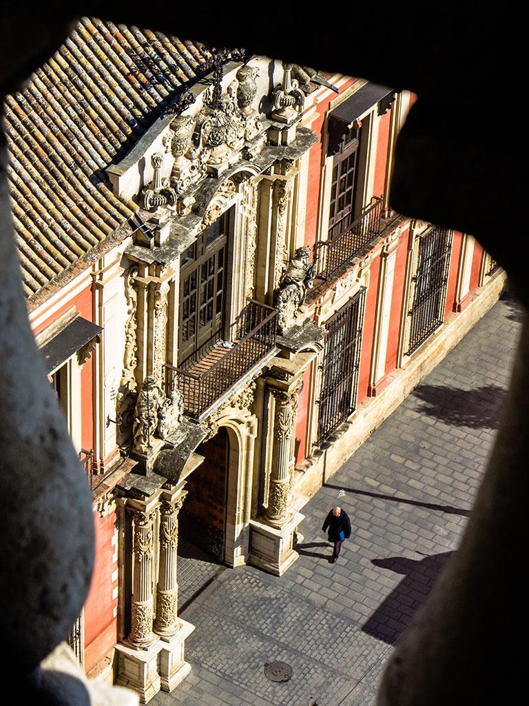 De alminar a Palacio. Sevilla, 2014 ©Flivillegas