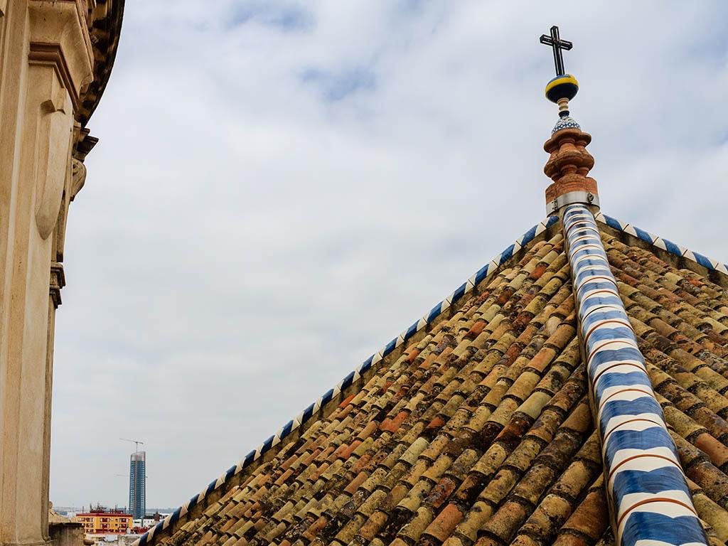 Torre Cajasol o Pelli desde el Salvador