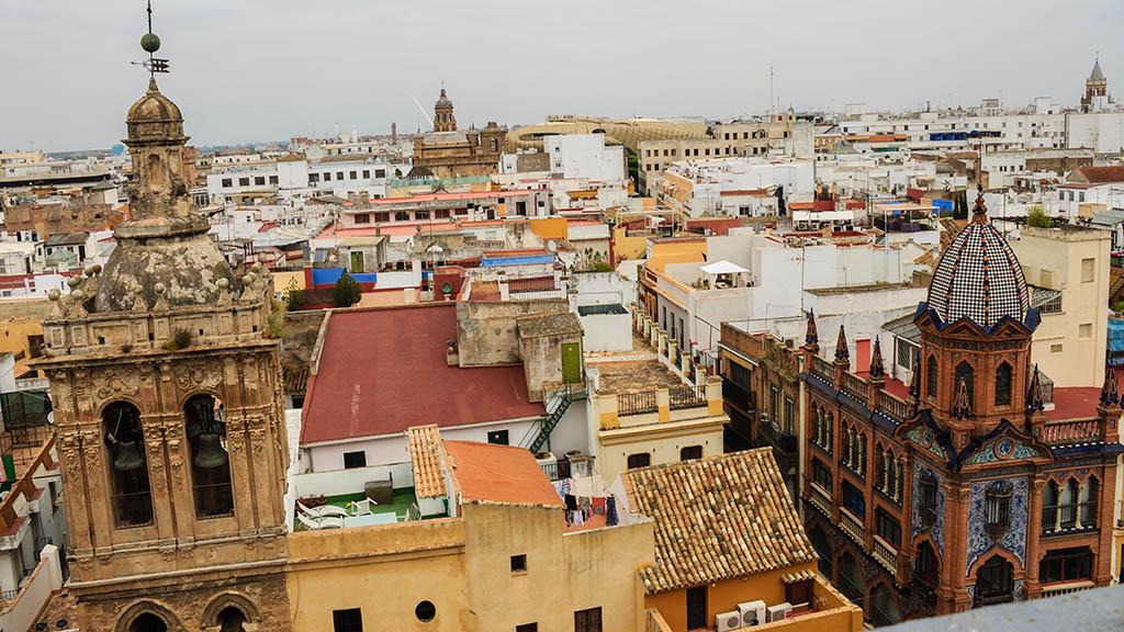 Sevilla desde el Salvador