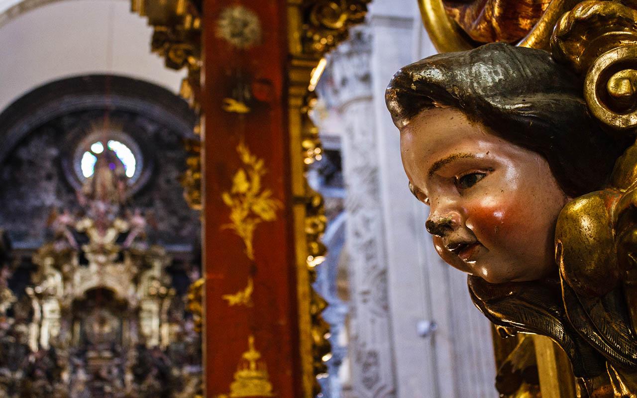 Interior del Divino Salvador