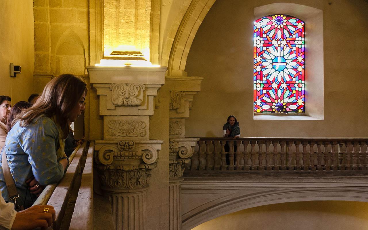 Interior de la Parroquia del Divino Salvador